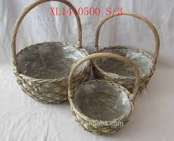 wicker baskets with plastic liner wicker baskets with plastic