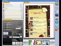 smartmenu create a menu for the restaurant pizzeria bars pubs