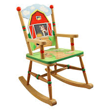 Kid Rocking Chair Fantasy Fields Happy Farm Table And 2 Chair Set Hayneedle