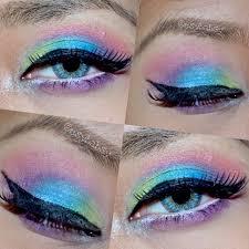 Aplikasi Eyeshadow Sariayu esy february 2015