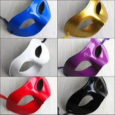 wholesale new cheap latex mask simple flat paint masquerade mask