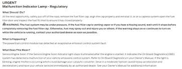 evap system check engine light check engine light evap canister