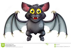 cute halloween bat cartoon stock photos image 34265913