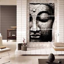 Wall Hangings For Living Room by Amazon Com Shuaxin Modern Large Photo Buddha Wall Art Print On