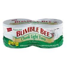 bumble bee chunk light tuna bumble bee chunk light tuna in water 4 5oz cans walmart com