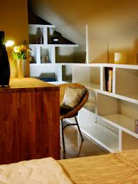 Office Shelf Decorating Ideas Small Space Home Offices Hgtv