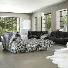 canapé style togo canapé modulable contemporain en polyester 4 places togo by