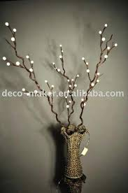 lighted trees home decor lighted twigs home decorating internetunblock us internetunblock us