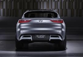 lexus rx vs infiniti qx car pro infiniti qx sport inspiration concept ditches side mirrors