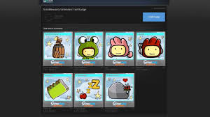 steam tradings cards scribblenauts unlimited foil badge crafting