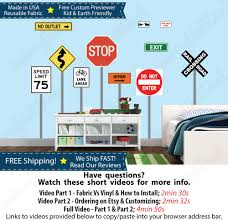 kids wall stickers stop sign stickers traffic sign stickers zoom