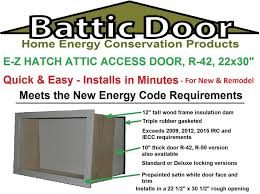 new rule for minnesota home builders attic access hatches must be