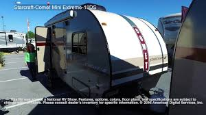 Starcraft Rv Floor Plans by Starcraft Comet Mini Extreme 18ds Youtube