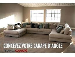 canapé d angle en u grand canape en u dimensions canapac denver dangle lit t one co