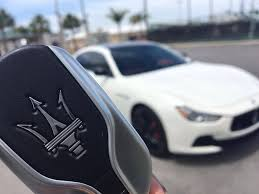 maserati white 2017 the weirdest features of the maserati ghibli s key fob youtube