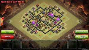 amazing clash of clans super th8 base the mighty excellent anti 3 star clan war base