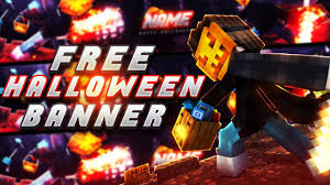 free halloween template free halloween minecraft banner template 09 youtube
