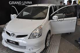 nissan grand livina 2011 grand livina tuned by impul revealed wemotor com