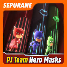 pj teamhero masks games android apps google play