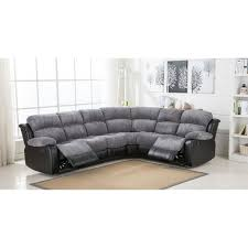 cloth reclining sofa cheap sofa uk cambridge grey fabric reclining corner sofa