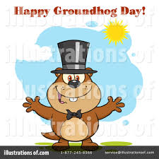 groundhog clipart 1377233 illustration by hit toon
