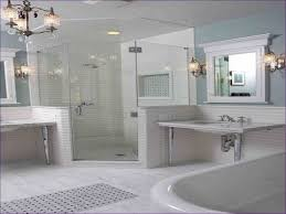 Lowes Bathroom Shower Kits by Bathroom One Piece Shower Stall Large Corner Shower Units Small