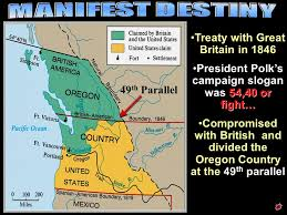map of oregon country 1846 1 february 26 map 6 of 45 map 7 of 45 4 us territorial expansion