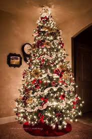 Decorative Trees With Lights Most Beautiful Christmas Tree Decorations Ideas Christmas