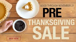 save room at the table for these pre thanksgiving day deals at