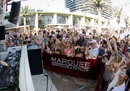 marquee dayclub pool party bachelorette vegas