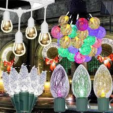 christmas light snow holiday decorations led christmas lights