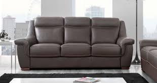 canapé cuir 4 places carla fixe ou relaxation buffle ou vachette personnalisable sur
