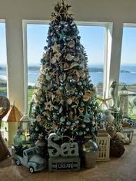 Beach Christmas Tree Topper - coastal tree season christmas inspiration pinterest