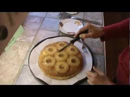 old fashion pineapple upside down cake youtube