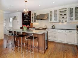 kitchen with kitchen island u0026 hardwood floors in montclair nj