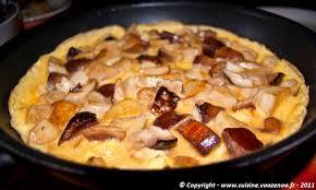 cuisiner des cepes frais omelette aux cèpes une cuisine pour voozenoo