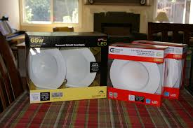 lowes retrofit recessed light led recessed lighting shootout home depot vs lowes vs costco
