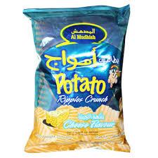 ripple chips al mudhish potato chips cheese flavour 75gms buy brands potato