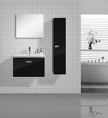Meubles Salle De Bain Noir salle de bain glossi noir 75