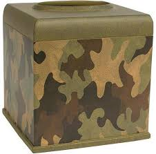 Camo Bathroom Accessories by Camouflage Cabin Lodge Bathroom Accessories Tissue Box Cover Free