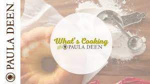 best thanksgiving side dishes paula deen scalloped potatoes and brussel sprouts what u0027s cooking with paula