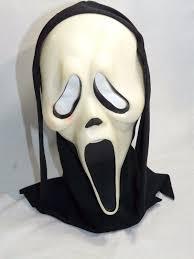 scream halloween mask scream 4 ghost face unisex horror face mask hood
