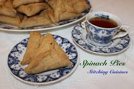 cuisines com spinach pies vegan gfo tatreez stitching cuisines