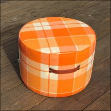 Orange Storage Ottoman New Orange Storage Ottoman U2013 Home Improvement 2017 Orange