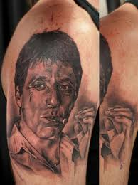 al pacino tattoo