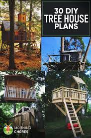 30 diy tree house plans design ideas for adult and kids 100 free i m sure when you were a child you ve ever dreamed about living in a beautiful tree house at least once a secret place above the tree with all the toys and