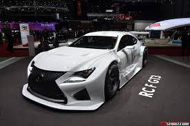 lexus rc f sport coupe geneva 2014 lexus rc f gt3 concept gtspirit