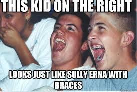Kid With Braces Meme - immature high schoolers memes quickmeme