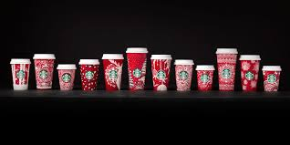 Starbucks Christmas Decorations Starbucks Releases 2016 Holiday Red Cups Starbucks Red Cups