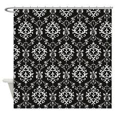 Black And White Damask Curtain Curtains Ideas Black Damask Curtains Inspiring Pictures Of